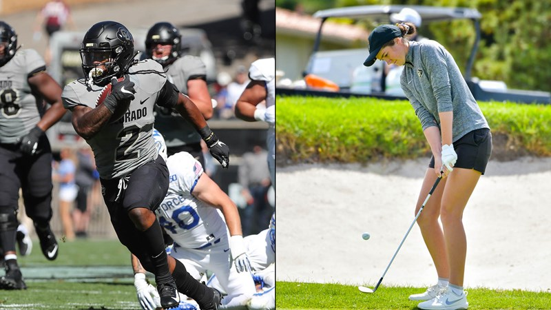 Shenault Jr. And Hodgkins Named CU Athletes Of The Week, Presented By Arrow